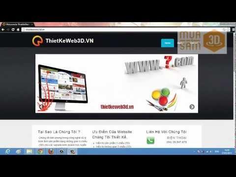 Thiết kế website 3D | Web 3D