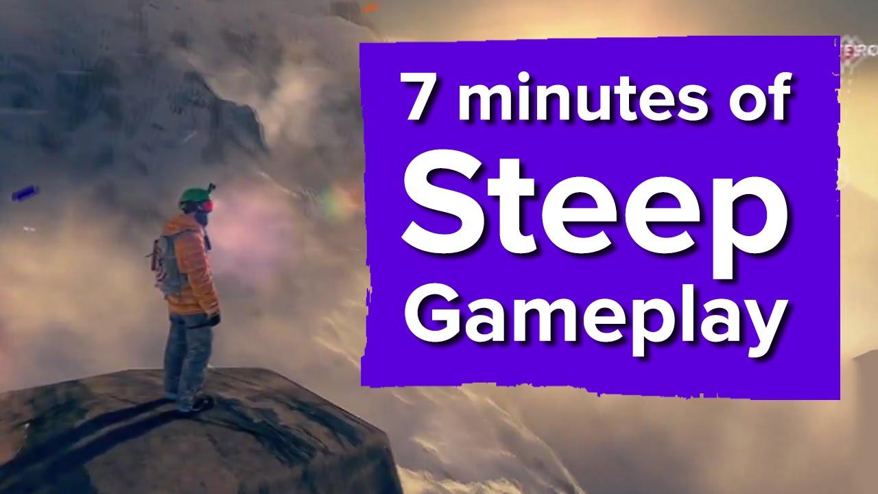 7 Minutes Of Steep Gameplay Ubisoft E3 2016 Youtube