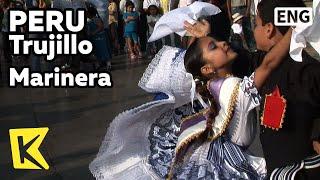 【K】Peru Travel-Trujillo[페루 여행-트루히요]꼬마 무용수의 마리네라/Marinera/Armas Plaza/Dance