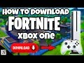Gambar cover How To Download Fortnite Xbox One
