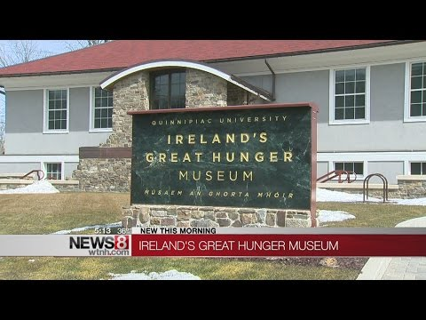 Tour Irish culture at QU's Great Hunger Museum