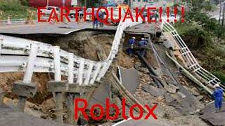 EARTHQUAKE!!! I A DerekGamer Video I Roblox Part 2