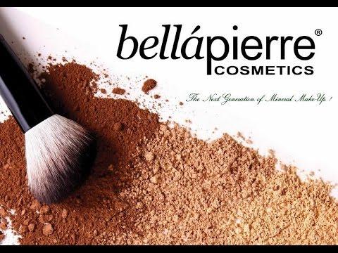 J'ai testé la marque : Bellapierre Cosmetics