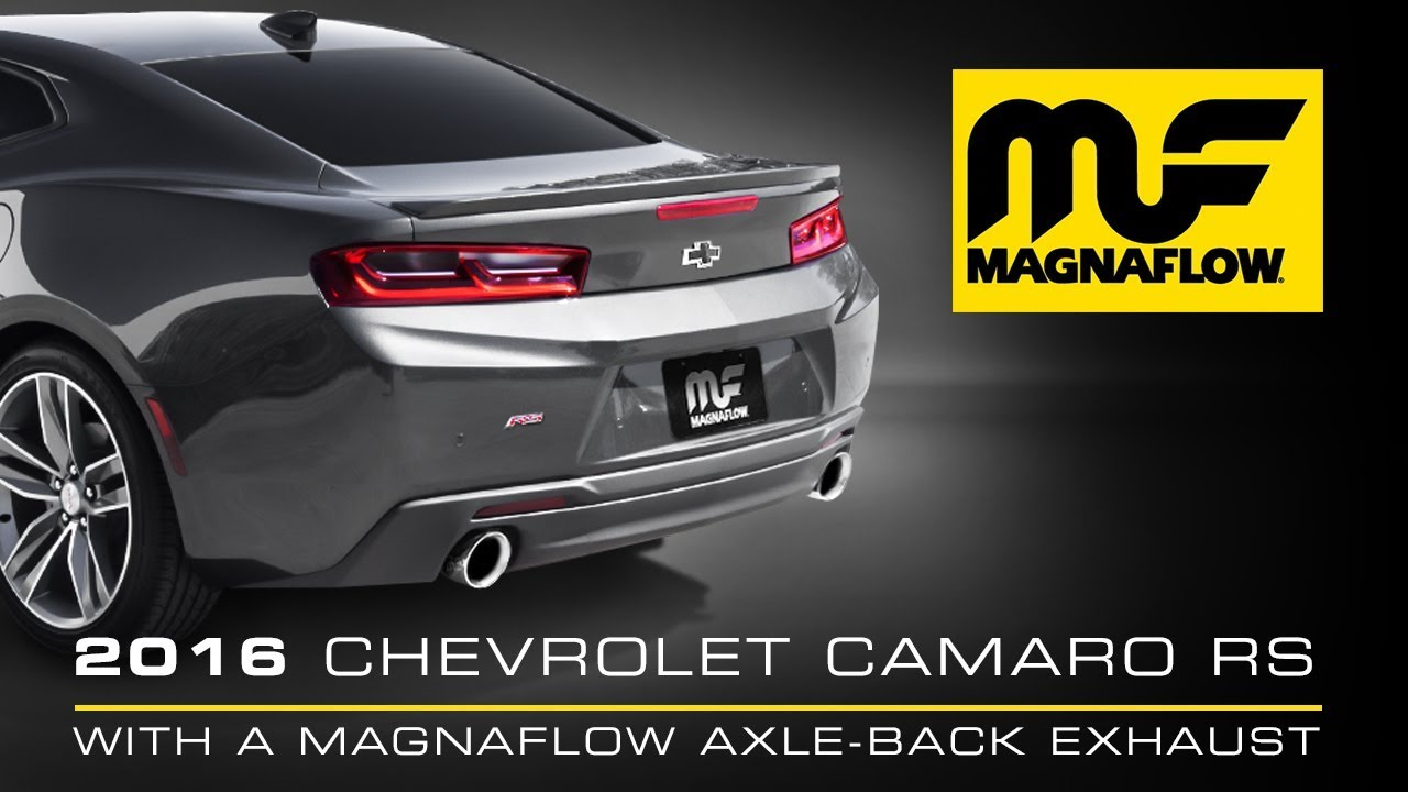 2016 chevrolet camaro rs 3 6l v6 with magnaflow competition axle back
