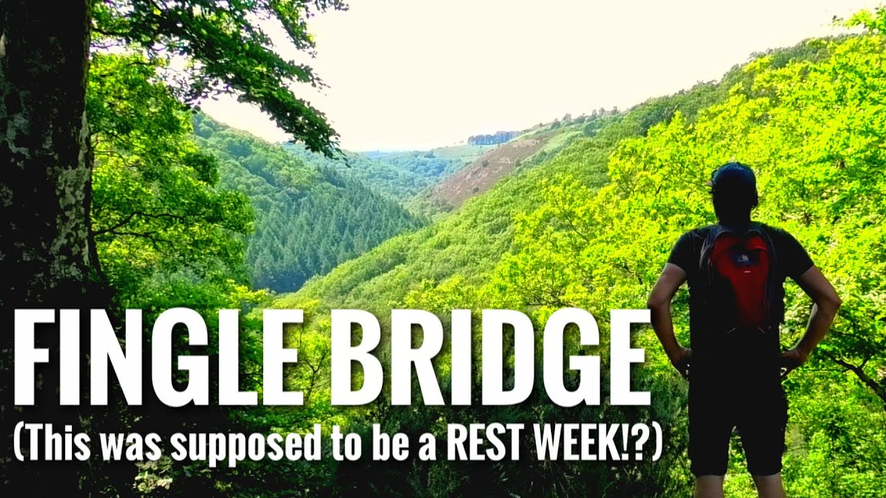 And this was supposed to be a REST WEEK!? Fingle Bridge Walk Dartmoor