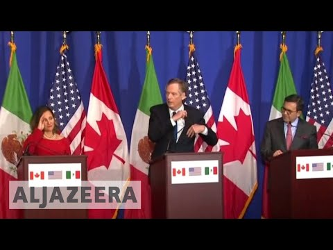 US seeks lower trade deficit in NAFTA talks