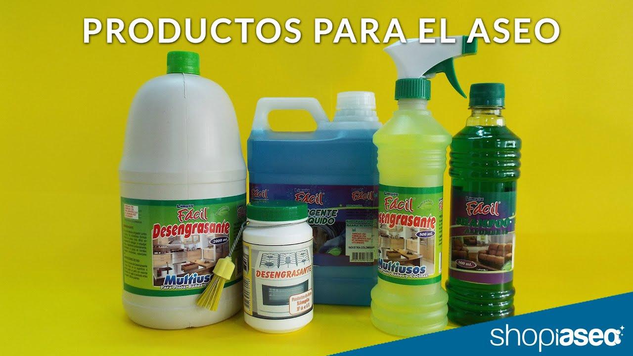 Fabricantes y distribuidores de productos para el aseo y for Articulos de casa