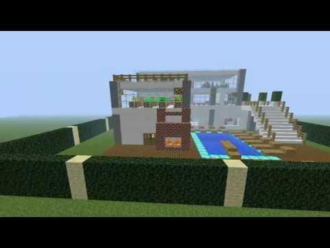 Como Fazer Uma Casa Subterr Nea No Minecraft Doovi