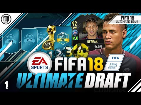 *NEW SERIES* FIFA 18 ULTIMATE DRAFT! ROAD TO GLORY! #1 - FIFA 18 Ultimate Team
