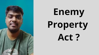 Enemy Property Act