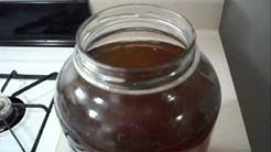 Kombucha: How to Make a 1 Gallon Batch