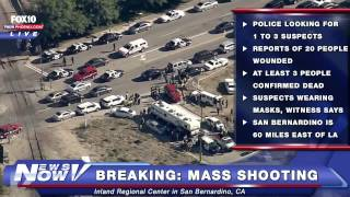 FNN: Extensive Coverage of Mass Shooting at Inland Regional Center in San Bernardino