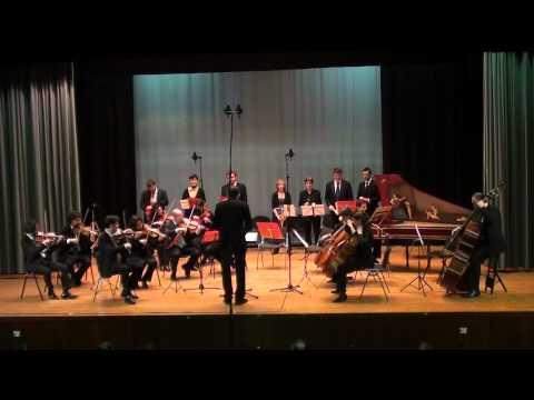 L. Mozart: Kindersymphonie in G Major (Toy Symphony), I mv