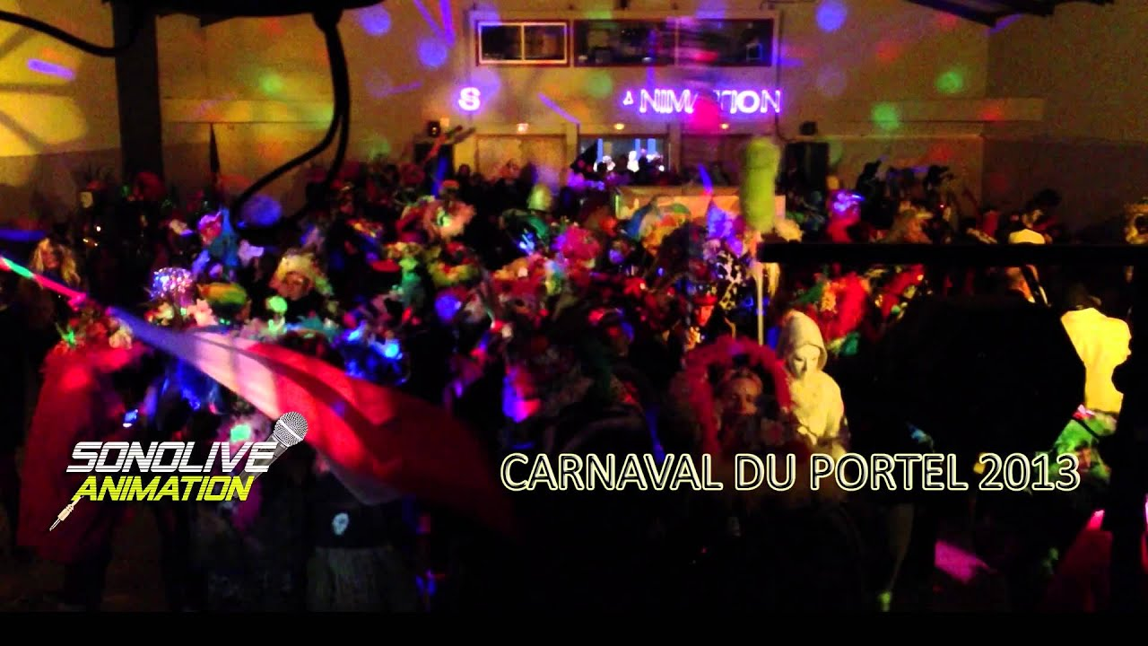 carnaval le portel 2013 bal de la salle yves montand 1 sonolive animation
