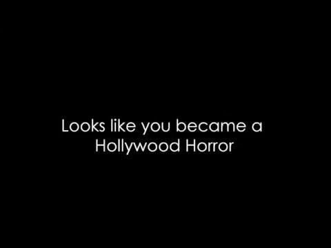 Dropout - Hollywood Horror (Lyrics) HQ