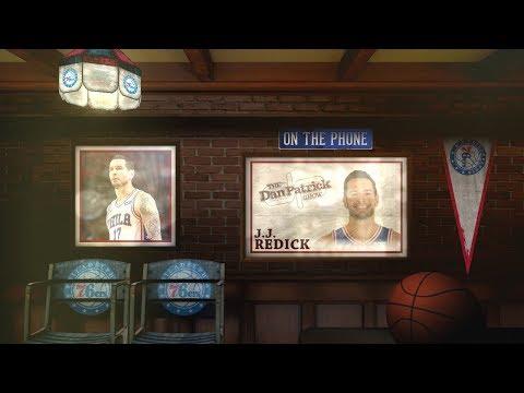 76ers Guard J.J. Redick Talks NBA Playoffs, Nightmares & More with Dan Patrick | Full Interview