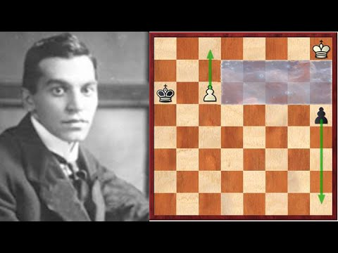 The Most Famous Chess Composition Ever! - The Ingenious Reti Endgame Study