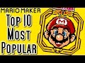Super Mario Maker Top 10 MOST POPULAR Courses of All Time (Wii U)
