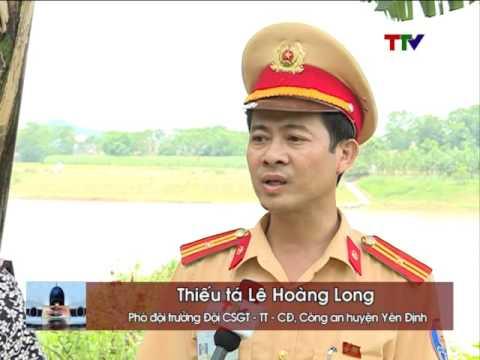 Tăng cường đảm bảo trật tự ATGT đường thủy tại huyện Yên Định