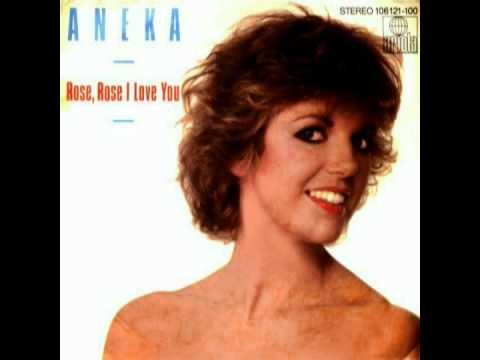 ANEKA  安妮卡 sings ROSE, ROSE I LOVE YOU 玫瑰,玫瑰我愛你 1983