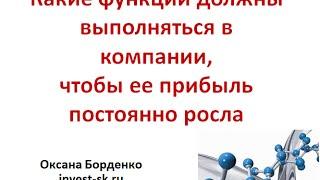 Структура компании, обеспечивающая рост компании(Ссылки из видео: http://invest-sk.ru/ http://webinar-trening.justclick.ru/lidernishi On-line CRM система