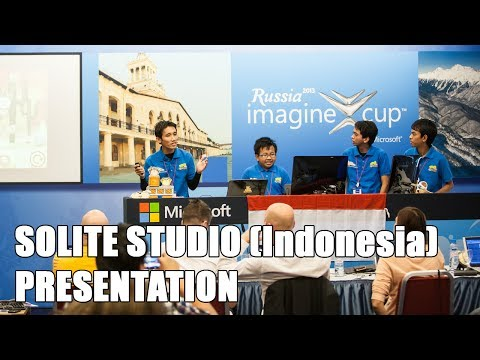 Solite Studio Indonesia Presentation Imagine Cup 2013 Russia