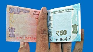 10 Magic Tricks With Currency Note
