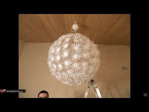 ikea snowflake maskros lamp stop motion assembly youtube. Black Bedroom Furniture Sets. Home Design Ideas