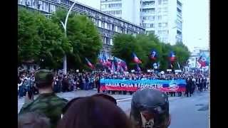 Парад в Луганске ( 09.05.2015)(, 2015-05-09T09:45:04.000Z)