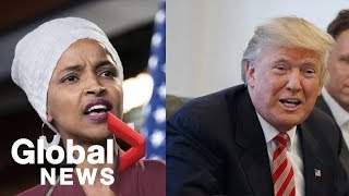 GOP leadership defends Trump's attacks on Democratic congresswoman
