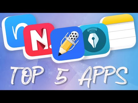 The BEST Note Taking Apps | Top 5 Fridays