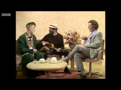Boy George and Roger Cook 1987