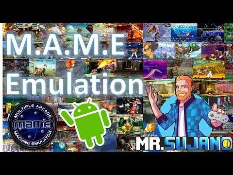 MAME (Multiple Arcade Machine Emulator) On Android