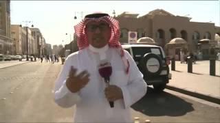 جولة العربية في موقع التفجير عند الحرم النبوي
