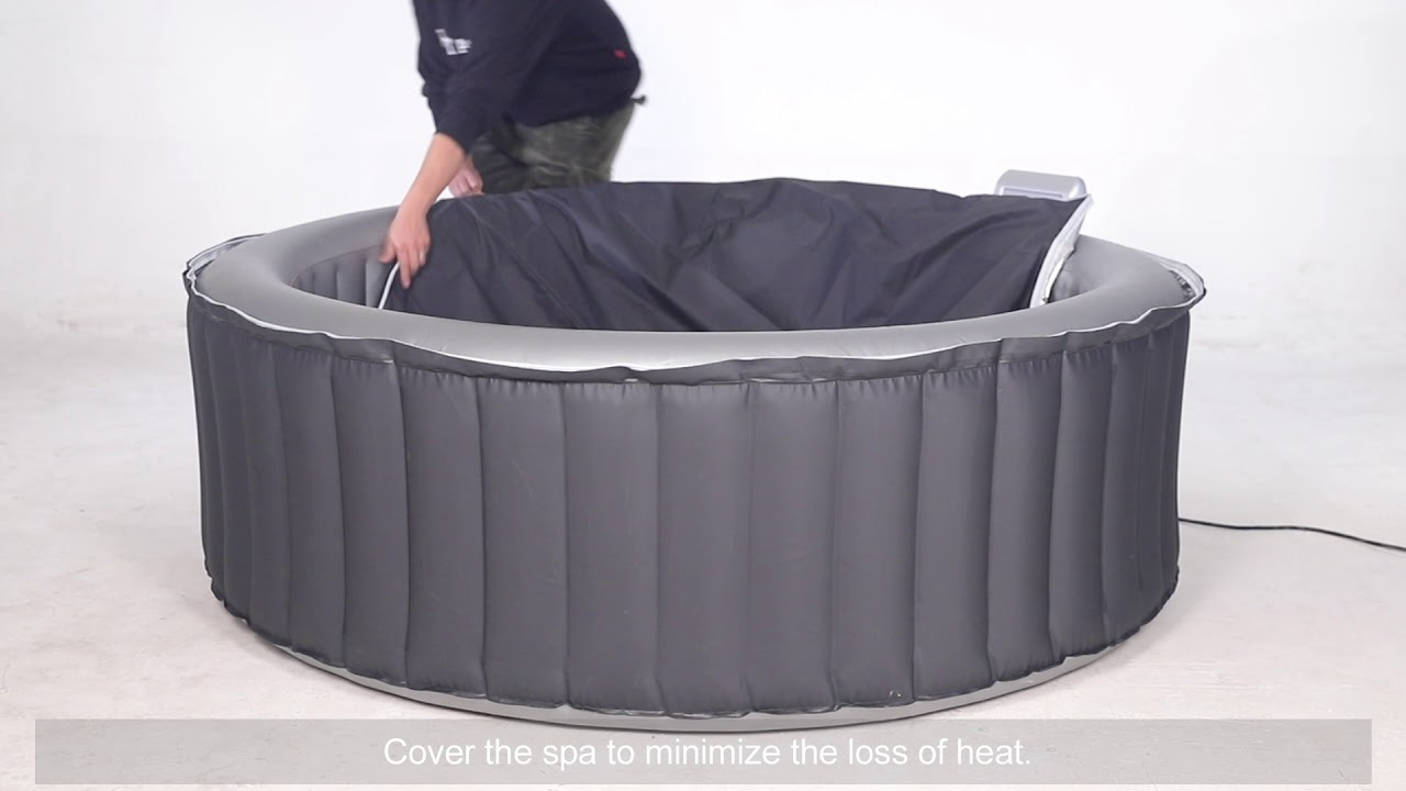 Mspa Inflatable Jetted And Bubble Spa In A Box By Crystalclear Leisure