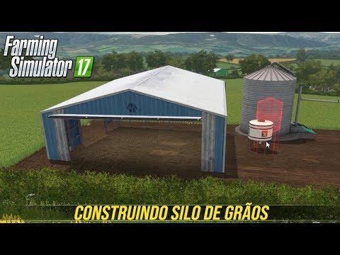 A CONSTRUÇÃO DO SILO | GARAGEM | Vida Real | Farming Simulator 17 - Coldborough Park Farm - Ep 2 thumbnail