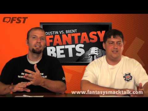 2012 Fantasy Football Bets Show