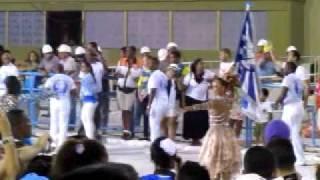 Mestre-Sala e Porta-Bandeira (Lucinha Nobre).