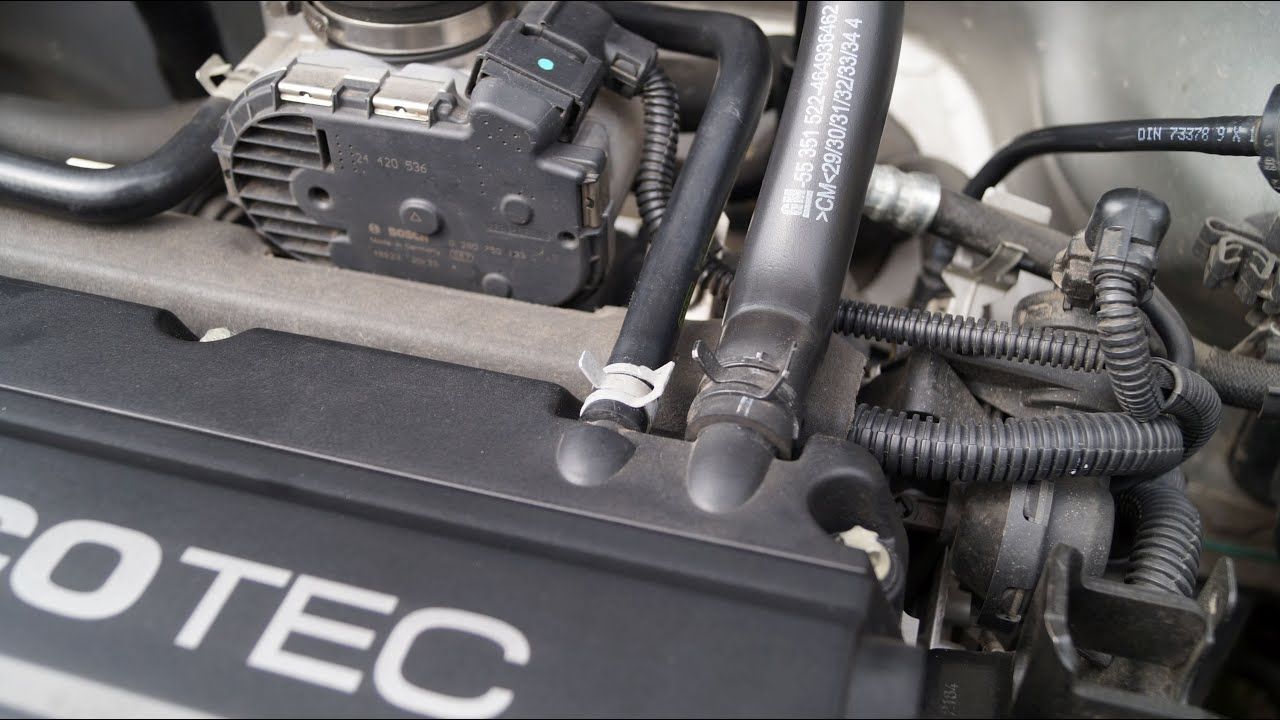 opel corsa engine ventilation hose replacement [ 1280 x 720 Pixel ]