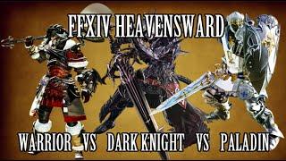 FFXIV Heavensward: Paladin vs Warrior vs Dark Knight