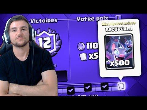12 VICTOIRES DEFI CHAUVE SOURIS TEST DE NOUVELLE CARTES !!!