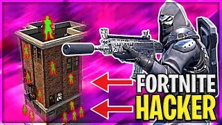 HACKERS ALL OVER FORTNITE (IMPOSSIBLE TO PLAY) | Danish Fortnite Highlights #357