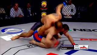 Pavlo Kusch defeats Abubakar Nurmagomedov