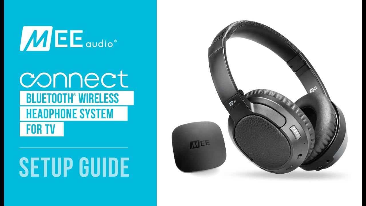 MEE audio Connect Headphone System Bundle for TV | Setup Guide