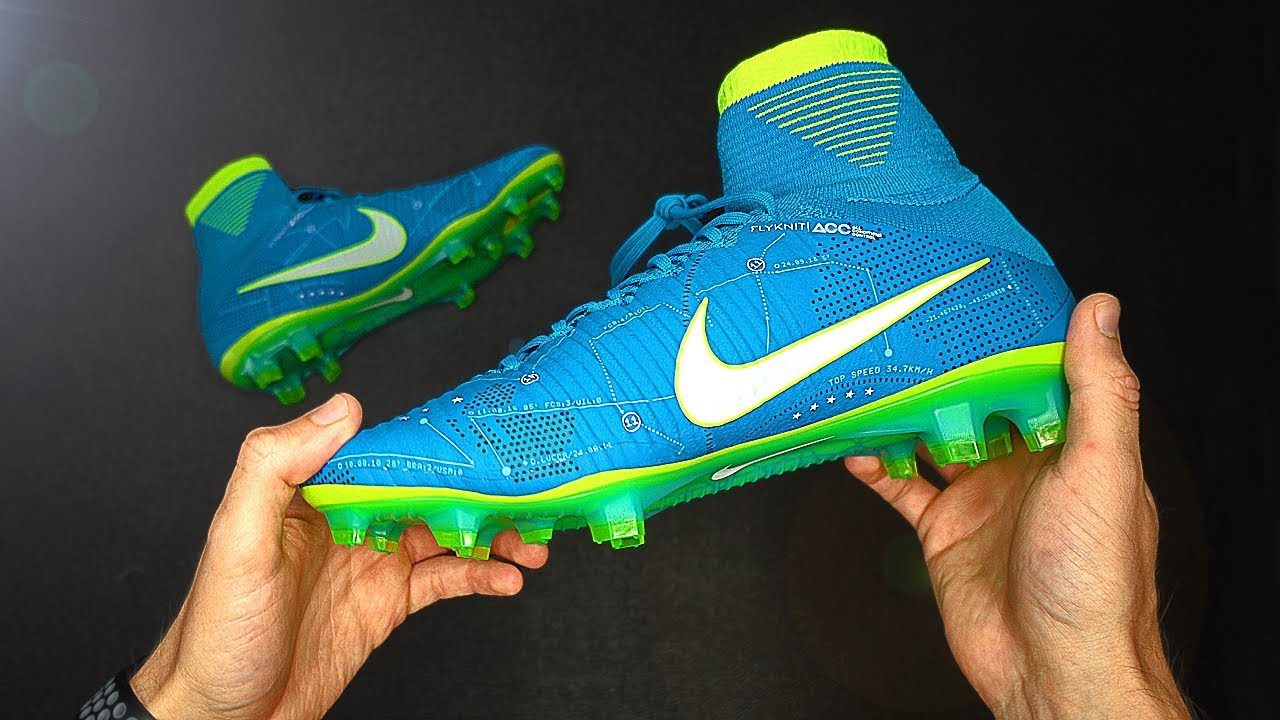 sale retailer 8a847 bd0de Football Boots of the MOST EXPENSIVE player: Nike Mercurial Superfly 5  Neymar Edition
