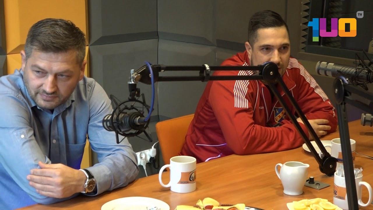 Sportowe Śniadanie – Marek Tracz i Adam Krok (FK Odra Opole)