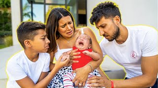 BABY MILAN has a BIG PROBLEM! **DOCTOR CALLED** | The Royalty Family