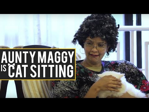 Cats & Cat lovers in 'Maggy Says Finders Keepers'