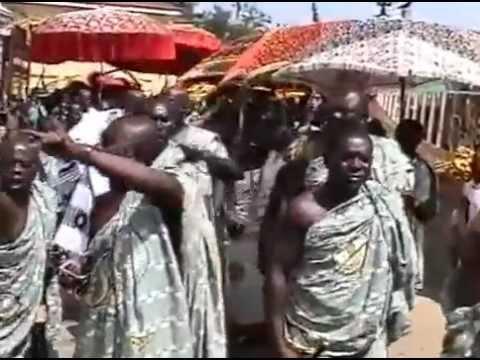 VIDEO OF ASHANTI FESTIVAL OR CARNIVAL IN SUNNY ROYAL BEAUTIFUL JUABEN, GHANA, AFRICA