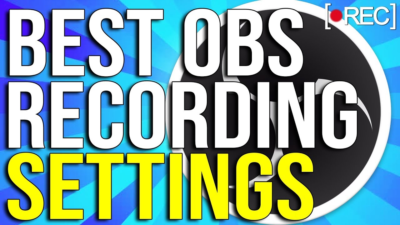 Best Obs Recording Settings 2020 Best OBS Recording Settings 2020 ! 🎥1080p With 60 FPS! (NO LAG
